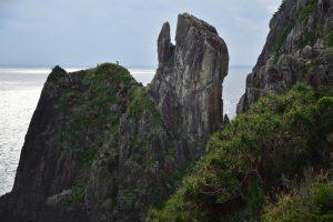 鳥の口と呼ばれる奇岩